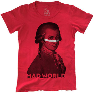 Amadeus Ant, 100 Percent Cotton T-shirt, Vintage Red, unisex