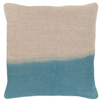 Surya Dip Dye Decorative Pillow