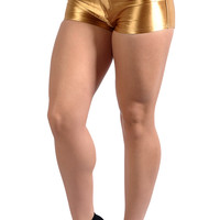 Gold Disco Shorts Design 8005
