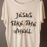 "Gina ""Jesus Take The Wheel"" Tee"