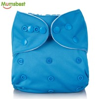 Reusable Washable Solid Color Cloth Diaper