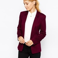 Oasis Ponte Jacket at asos.com