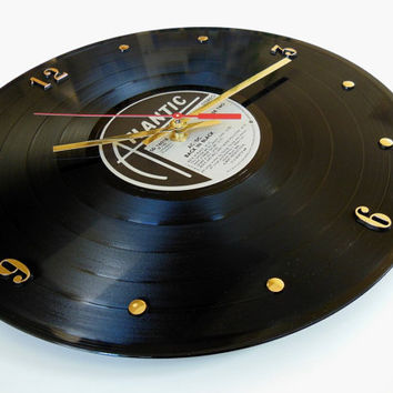 AC/DC Record Clock (Back In Black)