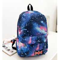Backpack Canvas   for Girls Teens Youth School Bags for Girls Space Backpack
