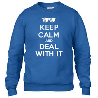 Keep Calm And Deal With It Crewneck sweatshirt