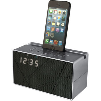 Ilive Blue Bluetooth Speaker With Clock