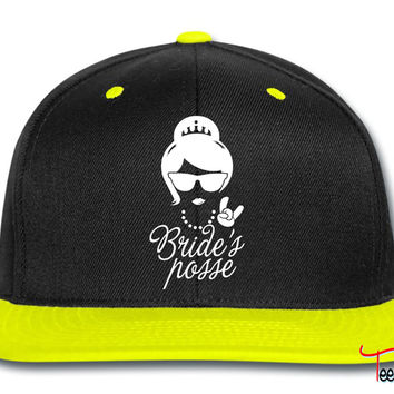 Team Bride Wedding Bridesmaids Stag do Hen night Snapback