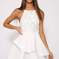 Rydge Dress - White