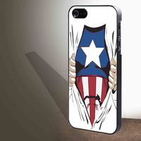 Avengers Captain America for iphone 4/4s/5/5s/5c/6/6+, Samsung S3/S4/S5/S6, iPad 2/3/4/Air/Mini, iPod 4/5, Samsung Note 3/4 Case **