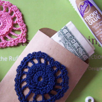 Hearts are Blooming - pattern for two sizes of crochet hearts