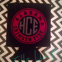 Monogrammed Alabama Roll Tide --Roll Tide/Alabama/Crimson Tide
