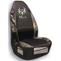 Bone Collector Universal Seat Cover (Realtree AP Camo, Heavy Polyester Fabric, Sold Individually)