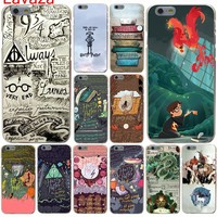 Lavaza Harry Potter and the Sorcerer's Stone Hard Case for iphone 4 4s 5c 5s 5 SE 6 6s 6/7/8 plus X for iphone 7 case