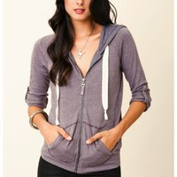 Splendid  - Heather Fleece Hoodie