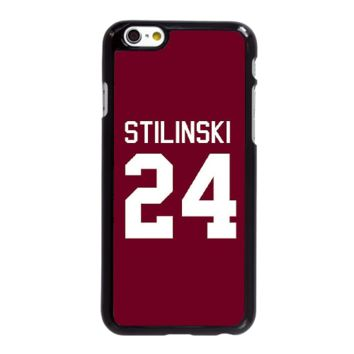 iPhone 7 Plus Cell Phone Case-black_Teen Wolf Stiles Stilinski 24 Lacrosse Jersey