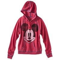 Disney Junior's Mickey Mouse Lightweight Hoodie - Red