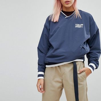 Carhartt WIP Pullover Training Top With Sports Rib at asos.com
