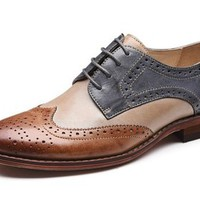 Women Oxford leather shoes E215