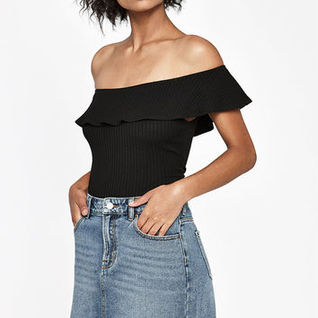 PacSun Raw Hem Denim Mini Skirt at PacSun.com