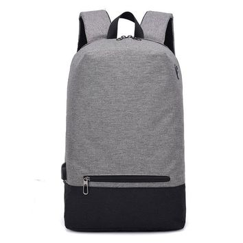 Boys bookbag trendy casual traveling backpack men business bags office  for school bag packs laptop mochilas lona masculinas usb bagpack boys AT_51_3