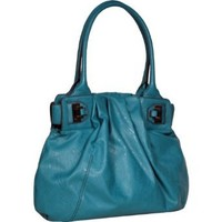 Jessica Simpson Lady Chic JS4681 Travel Tote,Red,One Size