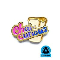 Chai-Curious Pin