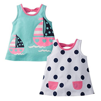 Baby Girls 2 Pack Combo Top Clothing New Born