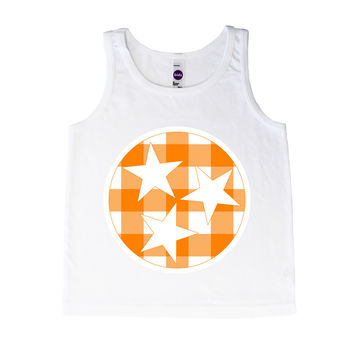 Tennessee Tri Star Vol Checkerboard - Tank