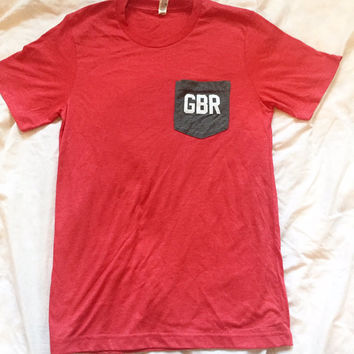 GBR Pocket Tee- Unisex
