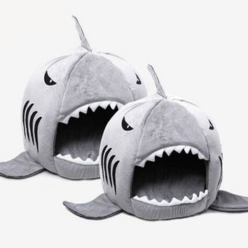 Shark Indoor Kitten/Cat Sleeping Bed