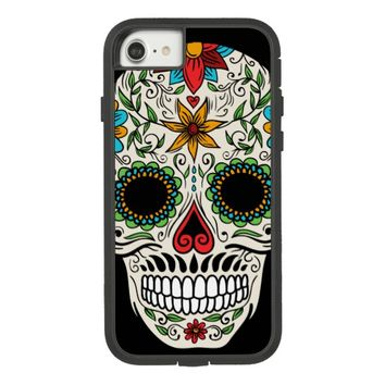 Day Dead Sugar Skull Tough Xtreme iPhone 7 Case