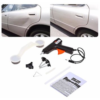 High quality Car Pops A Dent Ding Repair Removal Tool Set Kit for Vehicle Auto Automobile ABS Glue Gun DIY Paint Car Care Tools