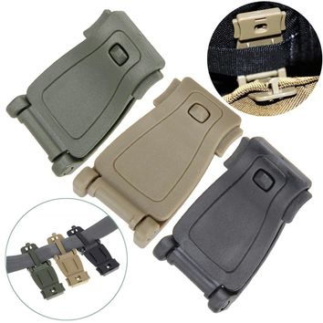 5Pcs/Set  Molle Strap Backpack Webbing Connecting Buckle Clip