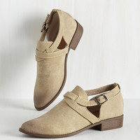 Make It Big Sur Bootie in Taupe