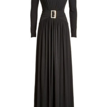 Floor Length Dress - Burberry | WOMEN | US STYLEBOP.COM