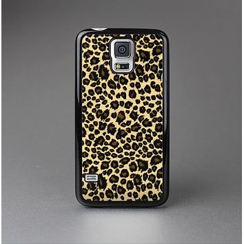 The Small Vector Cheetah Animal Print Skin-Sert Case for the Samsung Galaxy S5