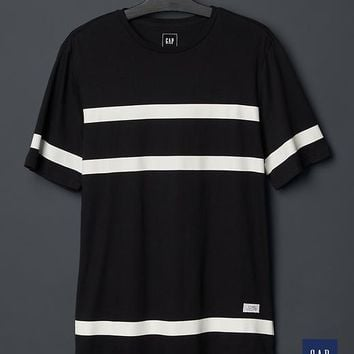 Gap Men + GQ STAMPD Long Striped T Shirt