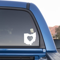 Ohio Love Sticker for Cars and Trucks