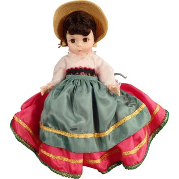 Vintage Madame Alexander Doll - Foreign Friends - Italy