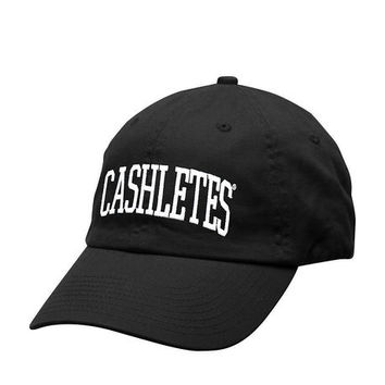 The Arch 6 Panel Hat in Black
