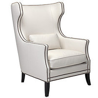Z Gallerie - Eddie Accent Chair - White