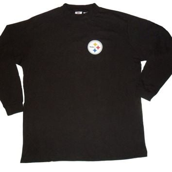 Pittsburgh Steelers Big and Tall Long Sleeve Shirt Mock or Turtleneck Up To  8X 4f3969270