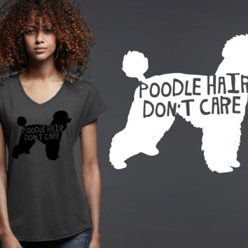 Poodle Dog Hair T-shirt