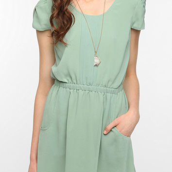 Pins and Needles Chiffon Slit Back Dress