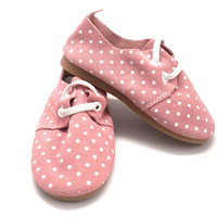 Polka Dot Oxfords- Toddler Shoes