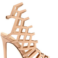 Impact the Outcome Nude Caged Heels