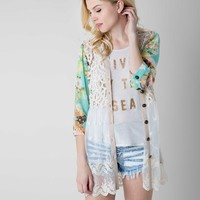 Gimmicks by BKE Pieced Cardigan