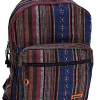 Multicolored Hippie Backpack - Spencer's