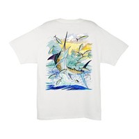 Palmetto Moon | Guy Harvey Island Marling T-Shirt | Palmetto Moon