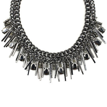 Kendra Fringe Collar Necklace